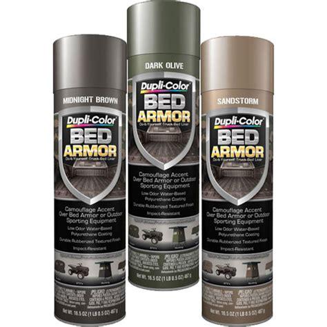 Duplicolor Bed Armor duplicolor camoarmor bed armor camo kit includes 16 5oz