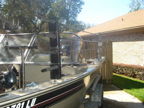 Homemade Fishing Rod Storage For Boats by My Homemade Boat Rod Rack