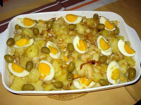 recette de bacalhau 224 gomes s 224 morue 224 la portugaise