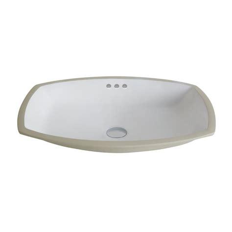 kraus kcu 261 white elavo 23 quot ceramic undermount bathroom