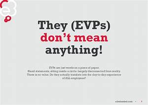 10 reasons why it's time to re think the EVP