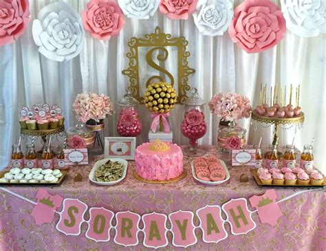 """Pink And Gold Baby Shower  Baby Shower """"royalty Baby"""