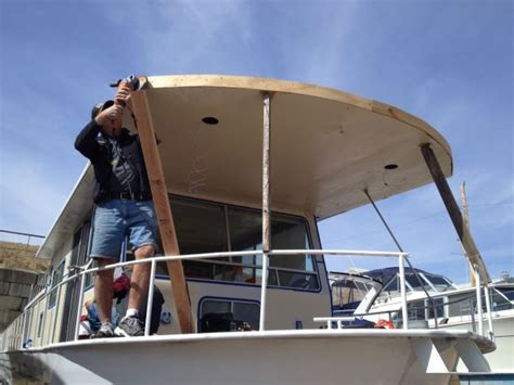 Houseboat Jobs by From The Forums A Diy Deck Job Houseboat Magazine
