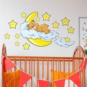 Bilder Fürs Kinderzimmer Leinwand : vinilos decorativos infantiles para beb s de 0 a 4 a os teleadhesivo ~ Markanthonyermac.com Haus und Dekorationen