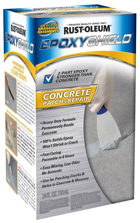rust oleum epoxy shield concrete patch and repair kit 215173 ebay