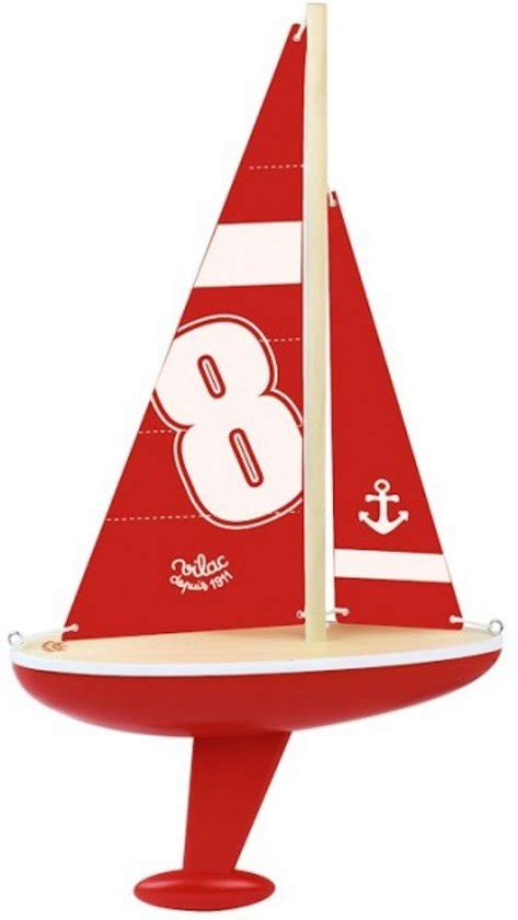 Speelgoed Bol by Bol Speelgoed Zeilboot Xl Rood