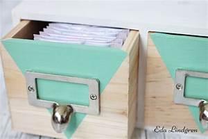Tee Aufbewahrung Wand : box upcycling macht euch das tee trinken sch ner eda lindgren ~ Markanthonyermac.com Haus und Dekorationen