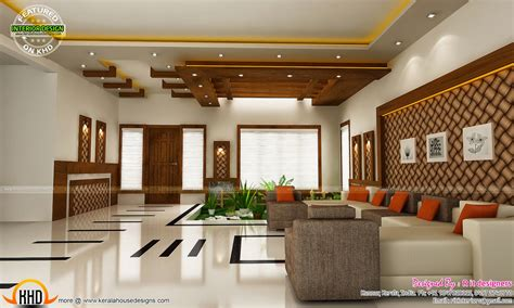 Modern And Unique Dining, Kitchen Interior  Kerala Home