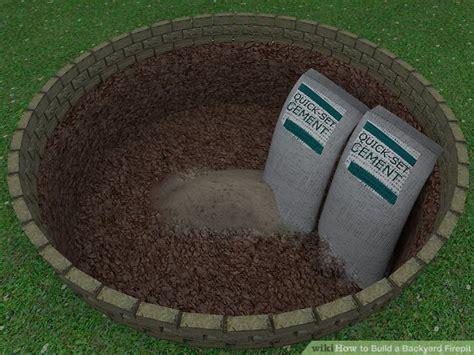 Ways To Build A Backyard Firepit-wikihow