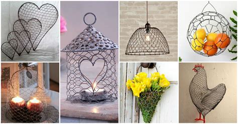 20+ Diy Chicken Wire Crafts That Will Fascinate You