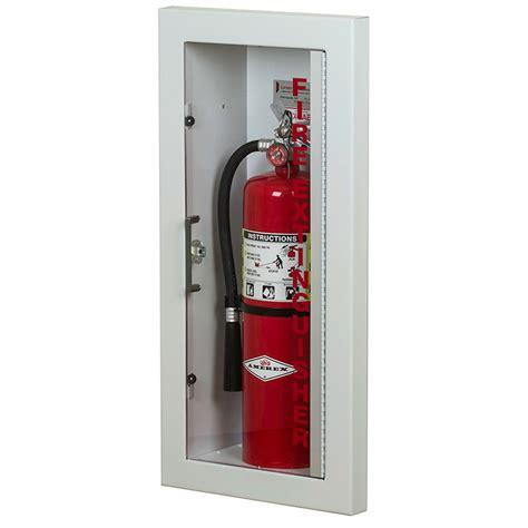larsen gemini series semi recessed extinguisher