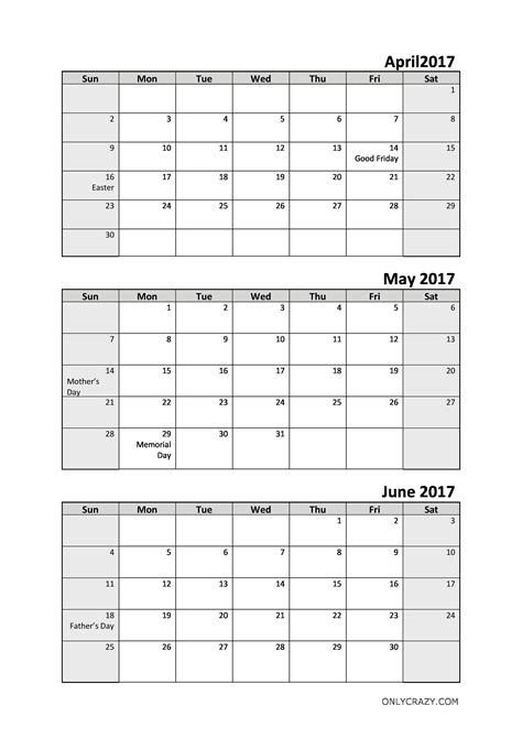 calendar template for june july august 2017 18 images of 4 month printable calendar template may june