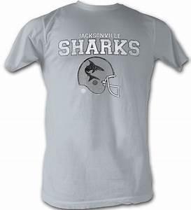 World Football League T-Shirt - Jacksonville Sharks Adult ...
