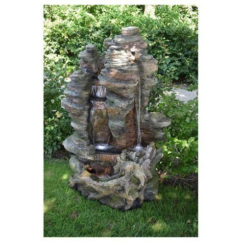 Fontaine De Jardin Miami Ubbink De Type Cascade Imitation