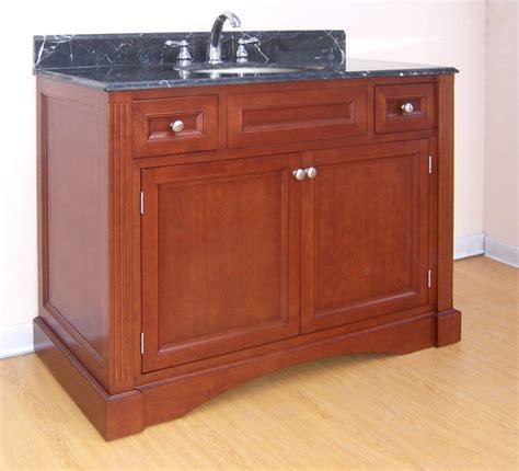 42 inch single sink bathroom vanity with choice of finish and counter top uvein42