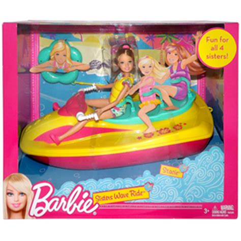 Barbie Jet Boat by Barbie Sisters Wave Ride Jet Ski Gamesplus
