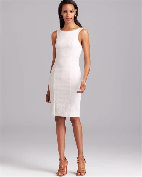Sleeveless Dress by Black Halo Dress Danielle Sleeveless High Neck Open Back