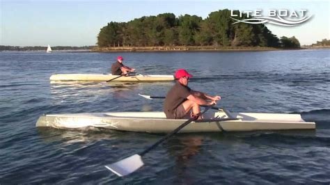 Quad Row Boat by Liteboat A New Concept Of Rowing Boat Youtube
