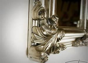 Wandspiegel Antik Silber : wandspiegel antik silber spiegel barock rechteckig wand deko 60x50 badspiegel kaufen bei ~ Whattoseeinmadrid.com Haus und Dekorationen
