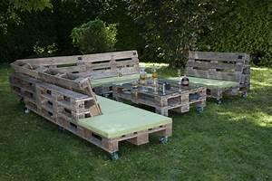 Paletten Möbel Garten : vintage gartenlounge aus geschliffenen paletten ~ Markanthonyermac.com Haus und Dekorationen