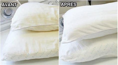 la meilleure m 233 thode pour laver et blanchir un oreiller jauni