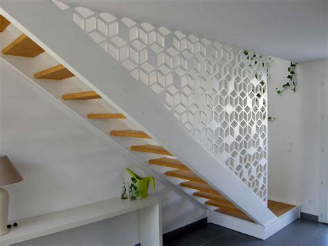 garde corps d escalier en bois sur mesure