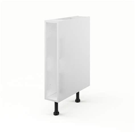 caisson de cuisine bas b15 delinia blanc l 15 x h 85 x p 56 cm leroy merlin