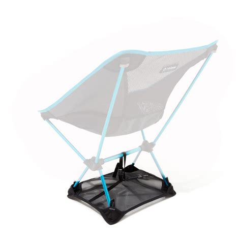 helinox chair one ground sheet prevents sinking into snow or sand