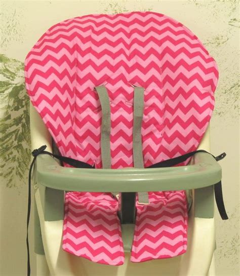 graco high chair cover pad replacement two tone pink