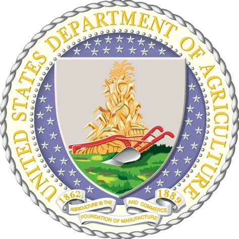 file seal of the united states department of agriculture svg wikimedia commons