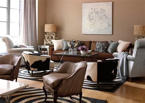 safari living room decor decorating with a modern safari theme