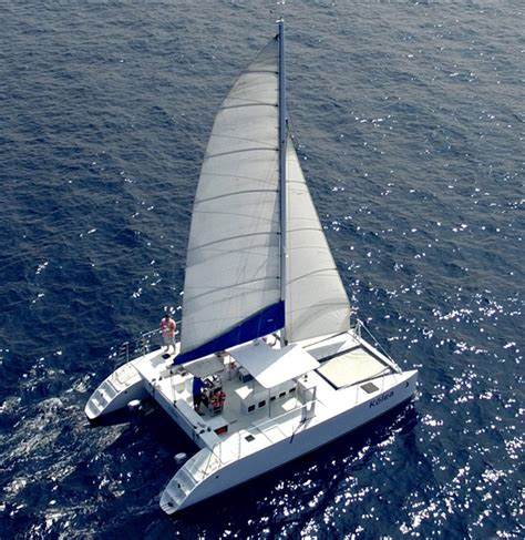 Catamaran Hawaii Big Island by Paradise Sailing Hawaii Kailua Kona Sailing Charters Big