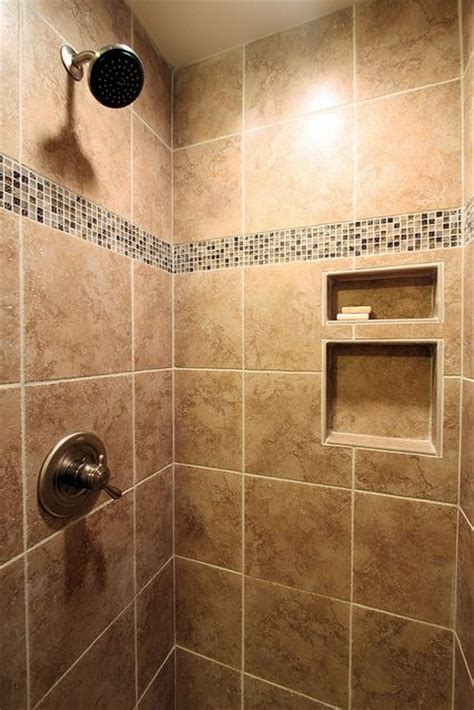 Ceramic Tile Shower  After By John M Ransone, Builder