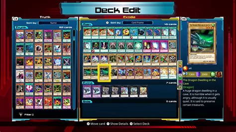 yu gi oh legacy of the duelist exodia deck