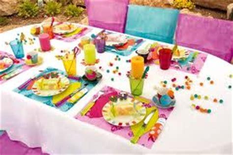 deco table enfant decoration table enfant pas cher