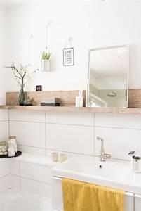Wandregale Fürs Bad : kleine badezimmer sch nheitskur fliesen sch ne b der und wandregale ~ Markanthonyermac.com Haus und Dekorationen