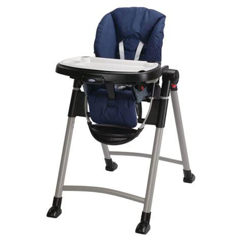 graco 1918633 contempo baby chaise haute in bleu nuit ebay