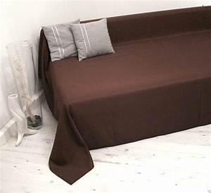 Plaids Für Sofas : tagesdecke decke plaid sofa bett sessel berwurf sofa berwurf 210x280cm braun ebay ~ Markanthonyermac.com Haus und Dekorationen