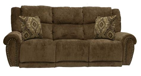 catnapper stafford power lay flat reclining sofa tobacco cn 61771 tobacco homelement