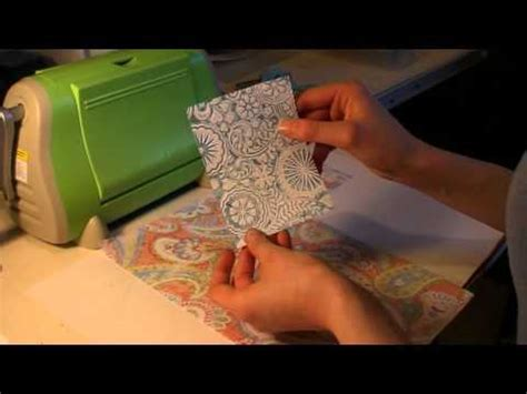 "Making A Card Using The ""inking A Cuttlebug Folder"