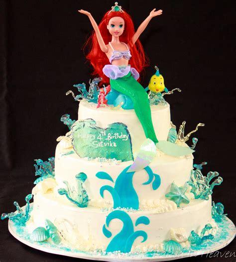ariel birthday cake ariel cake baked in heaven