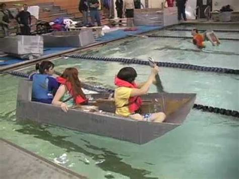 Cardboard Boat Challenge Instructions by Blk Next Topic How To Make A Boat Out Of Cardboard And