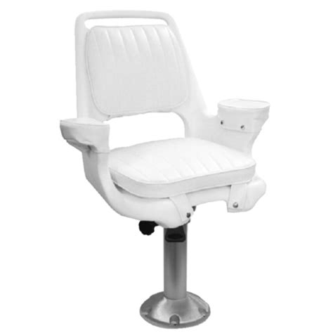 15 quot fixed height fishing boat captains pilot chair seat