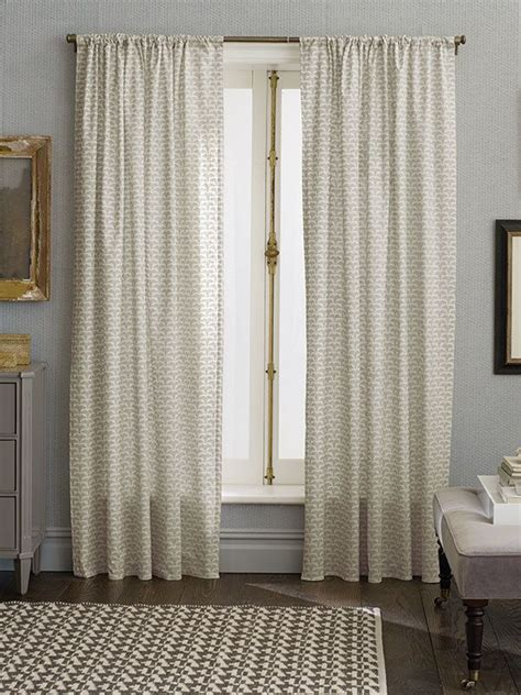 Nate Berkus Metallic Curtains by The Subtle Detail And Neutral Color In These Nate Berkus