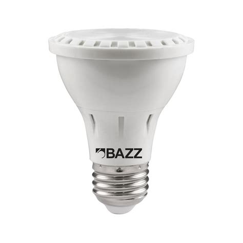 bazz 50w equivalent soft white par20 led flood light bulb bp2008ez the home depot