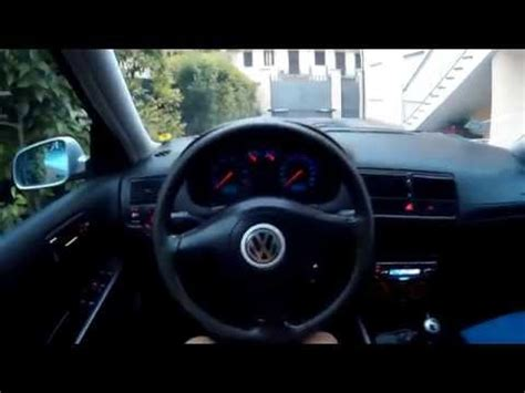 volkswagen golf 4 interior lights 1080p hd