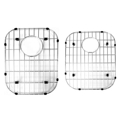 stainless steel sink protector grid for 60 40 bowl home surplus