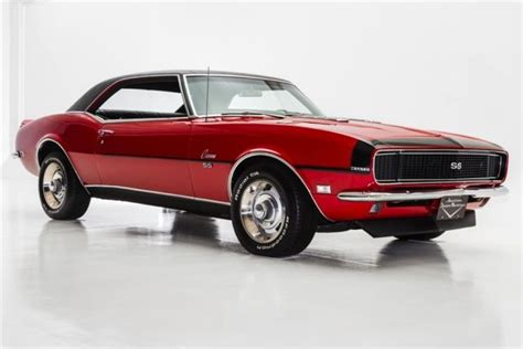 1968 Chevrolet Camaro True Rsss #'s Match 396 Manual For