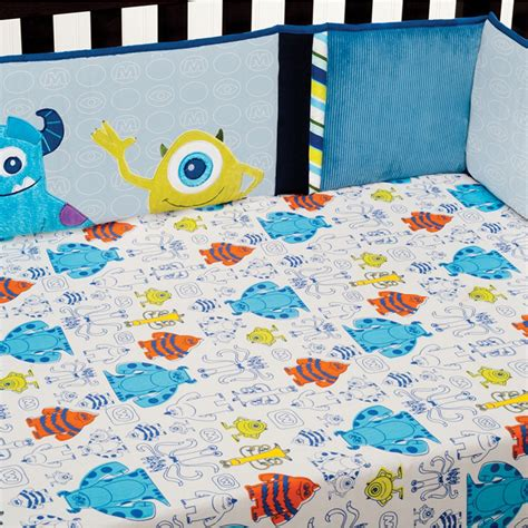 Monsters Inc Baby Bedding by Monsters Inc Premier Crib Bumper Disney Baby