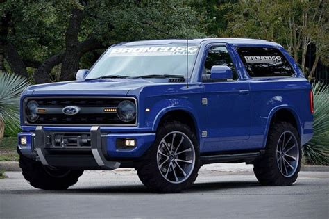 2020 Ford Bronco Fanmade Concept Opptrends